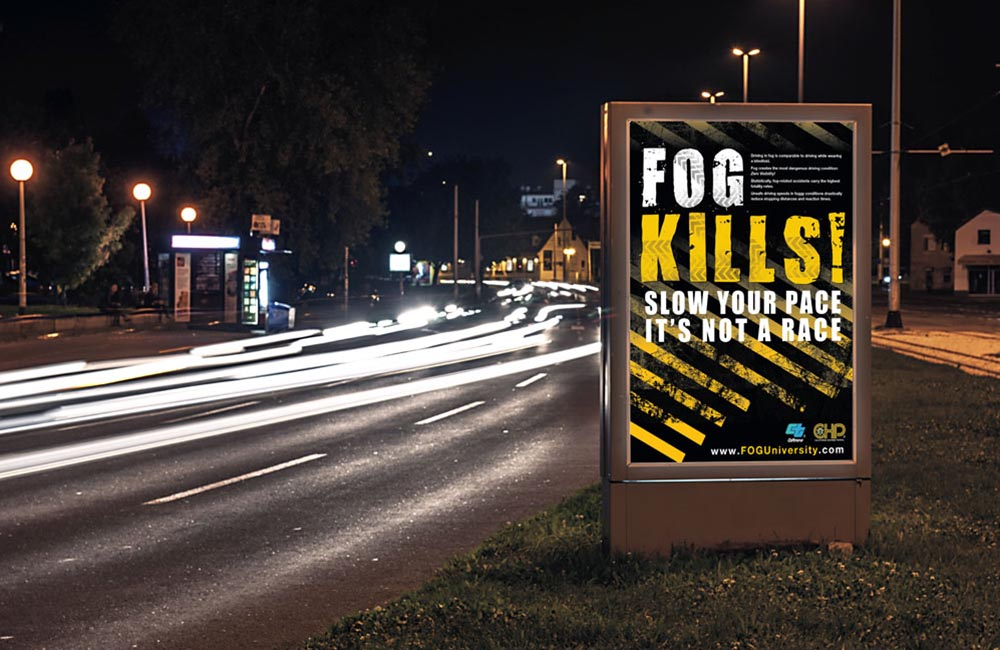 Fog Kills Billboard and Poster Design