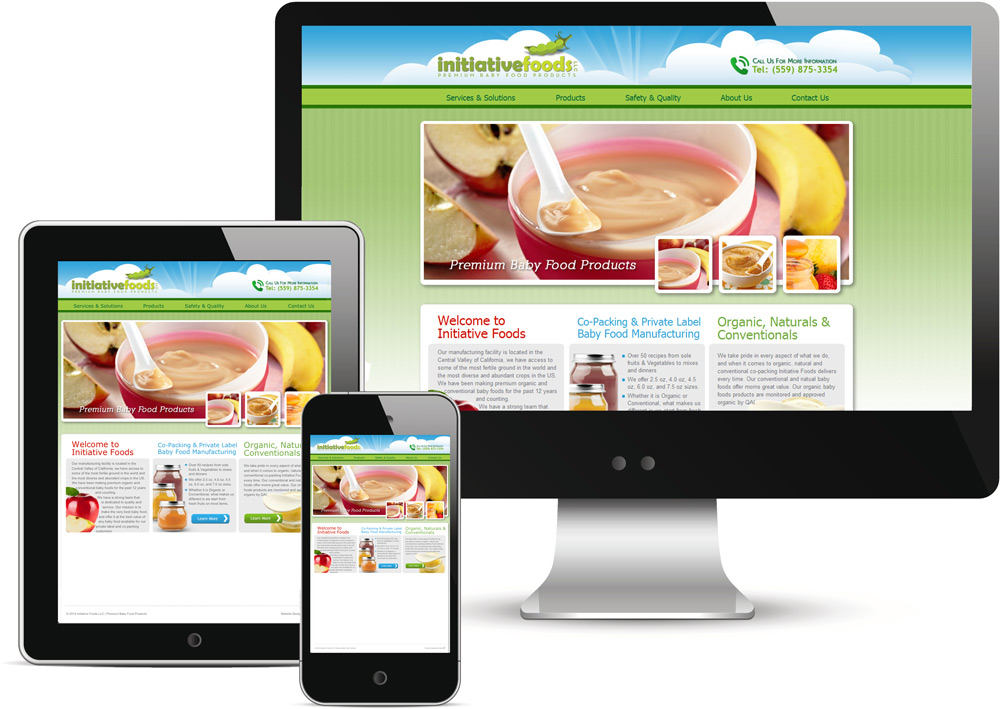 Initiative Foods Website Redesign