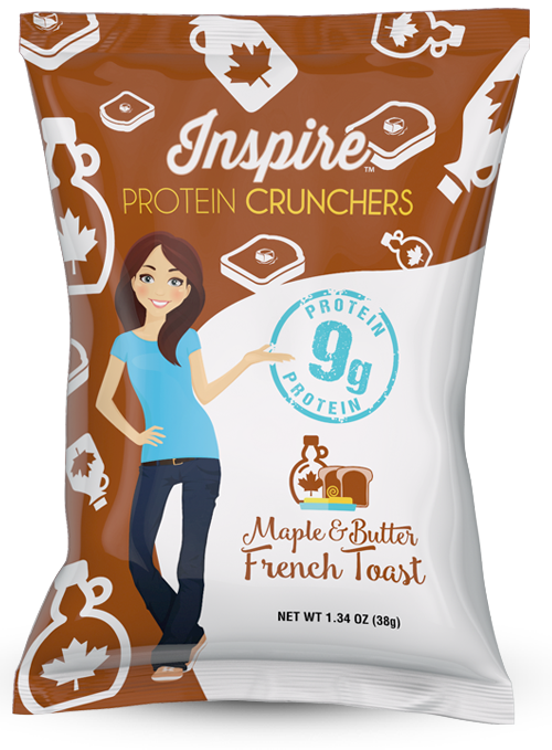 Inspire Protein Chips Package Design