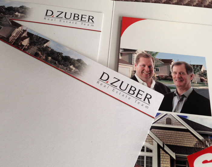 D.Zuber Marketing and Sales Collateral System Design